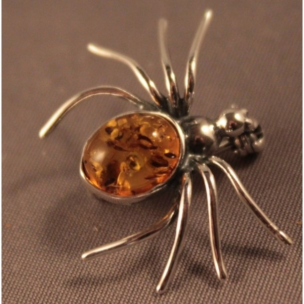 Broche formet som edderkop
