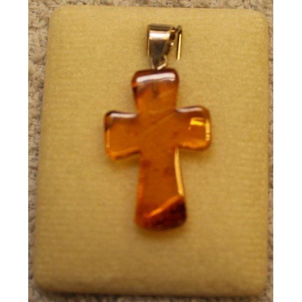 Kors i gyldent rav